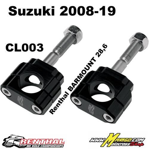 CL003  28.6mm Bar Mounts SUZUKI 2008-22