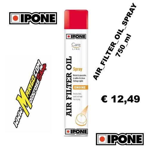 AIR FILTER OIL (750ml) Spray Lubrificante