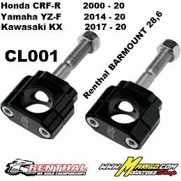 CL001 Honda CRF-R2000 - 20 / Yamaha YZ-F2014 - 20 / Kawasaki KX 2017 - 20