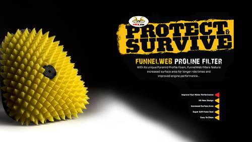 FunnelWeb Filter  -  PRO Line