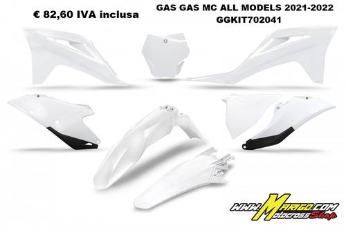 UFO Plast  -  KIT GAS GAS MC ALL MODELS 2021-2022   GGKIT702