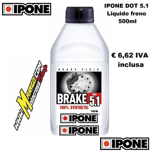 Olio Freni BRAKE DOT 5.1 Sintetico (500ml)