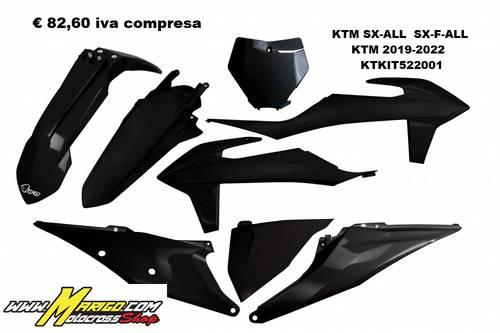 UFO Plast  -  KTM SX/ALL  SX-F/ALL  KTM 2019/2022   KTKIT522