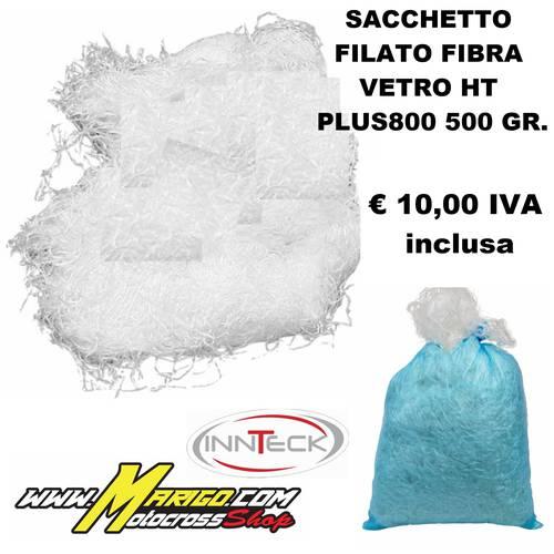 SACCHETTO FILATO FIBRA VETRO HT PLUS800 500 GR.