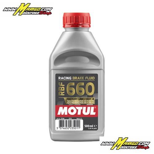 OLIO FRENI RACING MOTUL RBF 660 DOT 4 - 500 ML