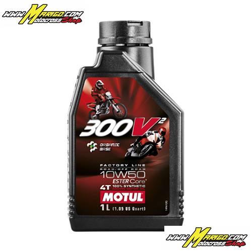 OLIO MOTORE MOTUL 300V2 10W-50 - 1 LT