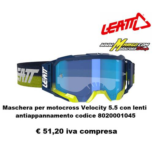 Velocity 5.5  2021 codice.8020001045