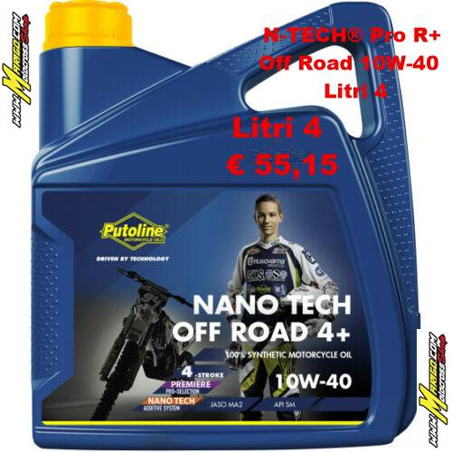 N-TECH® Pro R+ Off Road 10W-40  Litri 4