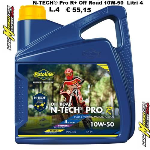 N-TECH® Pro R+ Off Road 10W-50  Litri 4  cod. 74359