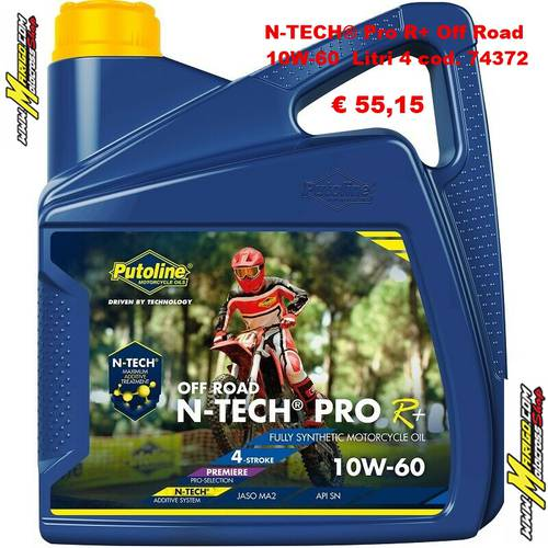 N-TECH® Pro R+ Off Road 10W-60  Litri 4