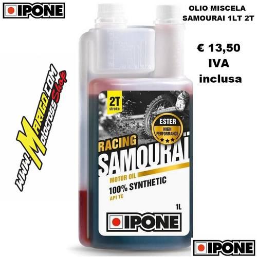 12- SAMOURAI RACING Sintetico 2T (1lt) Olio Miscela