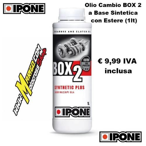 BOX 2 a Base Sintetica con Estere Olio Cambio  (1lt)