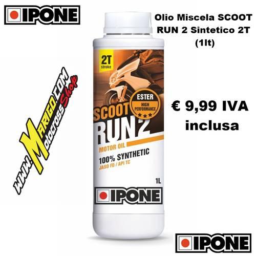 16- Olio Miscela SCOOT RUN 2 Sintetico 2T (1lt)