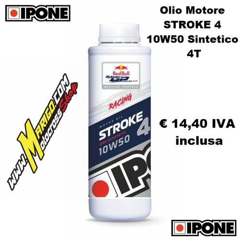 2 - STROKE 4 10W50 Sintetico 4T (1lt)  Olio Motore