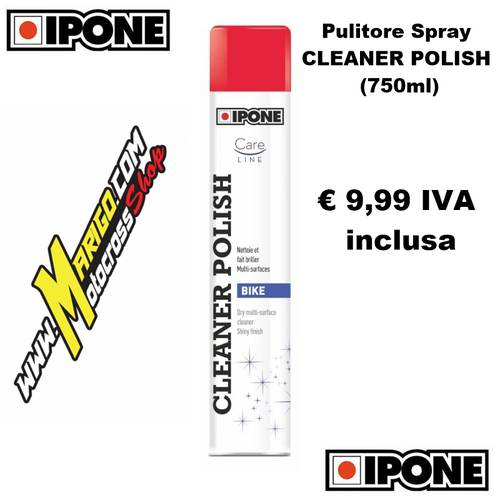 CLEANER POLISH (750ml)  Pulitore Spray