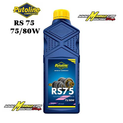 RS 75 SAE 75w80 PUTOLINE  cod.70318