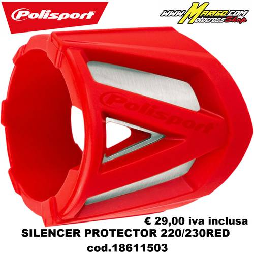 SILENCER PROTECTOR PERFORMANCE 200-330 mm PART Small Version