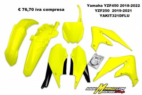 UFO Plast  -  Yamaha YZF450 2018/2022  YZF250  2019/2021  YAKIT321
