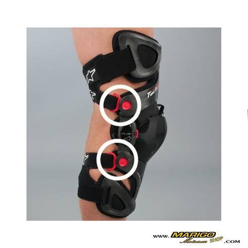 BUCKLES  -  Fluid Knee Brace