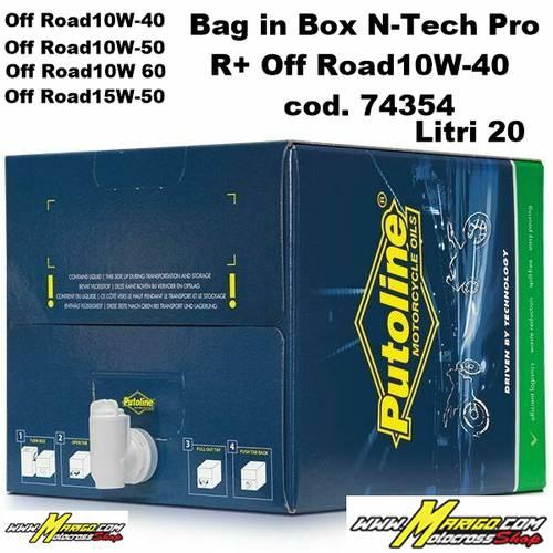 Bag in Box N-Tech Pro R+ Off Road   20 lt